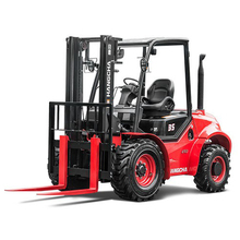 Hangcha XF series 3.5 ton Four - Wheel Drive Rough Terrain Forklift Truck