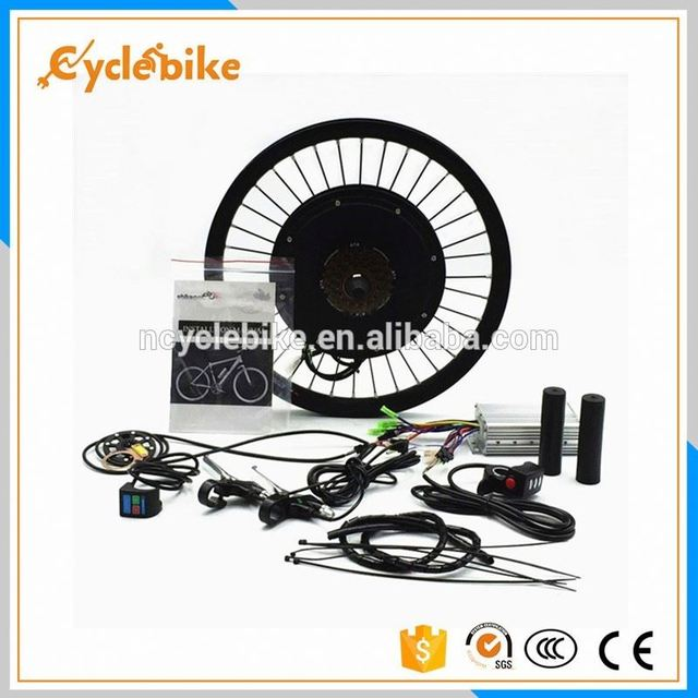Front rear 48v 500w btn ebike conversion kit