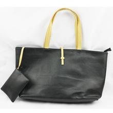 Fashion PU leather handbag factory Cheap price Hand Bag tote bag