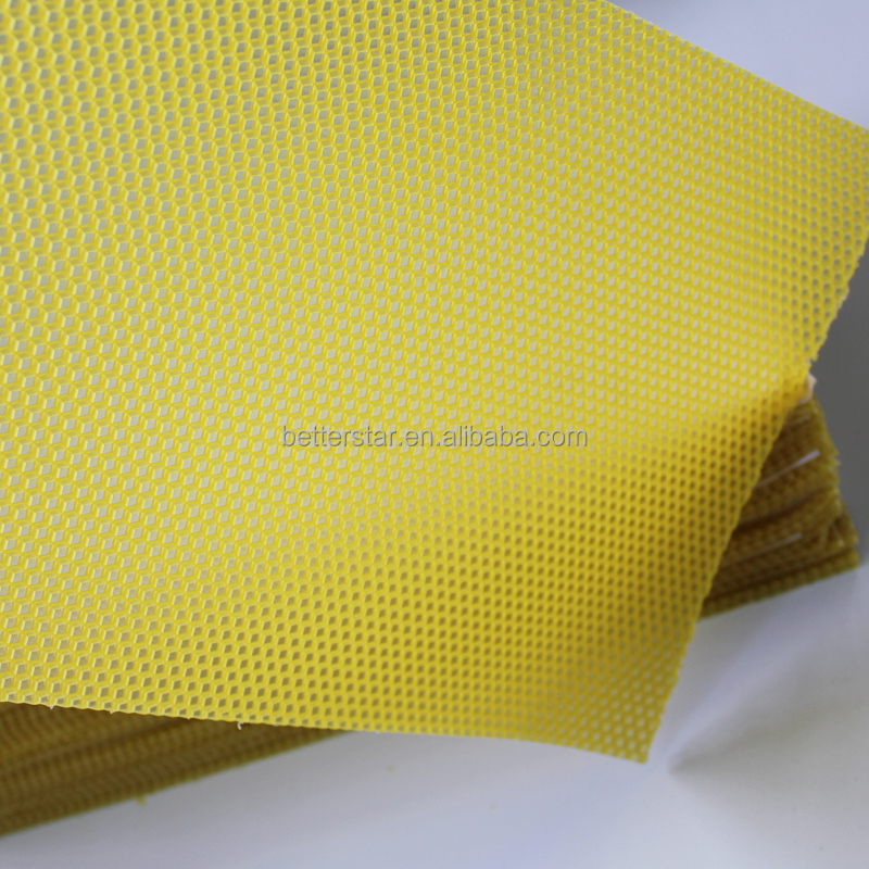 High quality wax material chinese beeswax foundation sheet