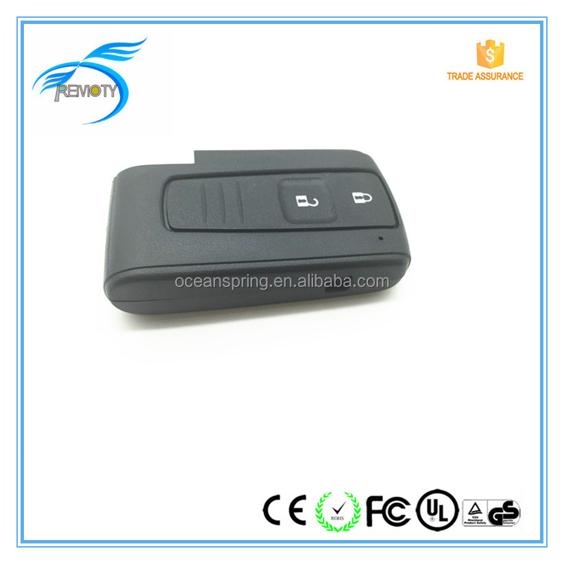 2 button car smart key shells for Toyota smart key cover