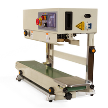 Industrial vertical bag sealer aluminum foil bag sealer continuous band sealer sealing machines