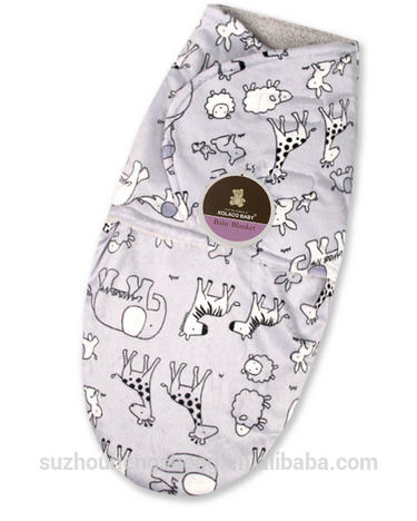 hot sale & high quality knitted baby swaddle for wholesale