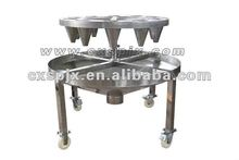 Hot sale slaughtering machine,chicken slaughter machine/small capacity blood letting table