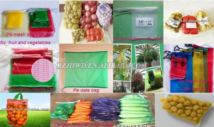 high quality cheap raschel mesh bag for onion packing
