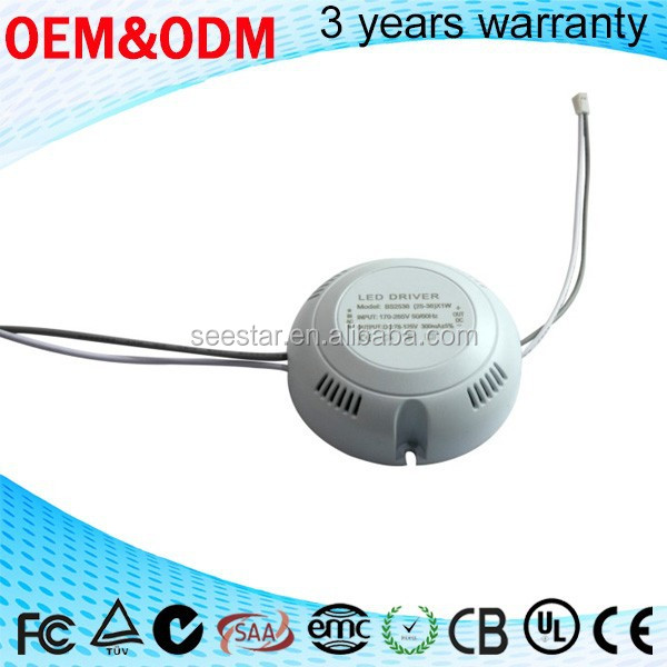 New Product Constant Current LED Driver, 35w 800ma LED Power Supply for Floodlight/ Street Light