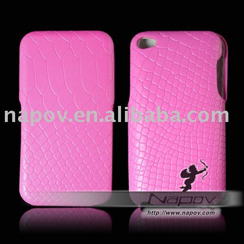for ipod touch 4 leather case ,leather + PC material, super quality !!!!!