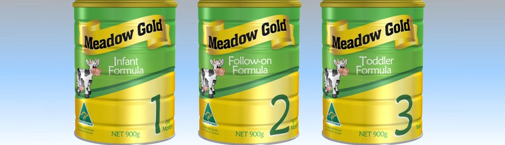 Australia Manufacturer Meadow Gold organic Infant Baby formula