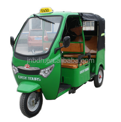 200cc passenger gasoline tuktuk tricycle for South American market
