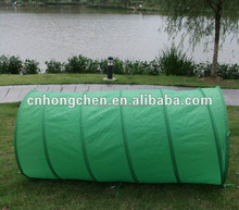 Wholesale Pet Products Good Quality Blue Polyster Outdoor Dog Training Tunnel