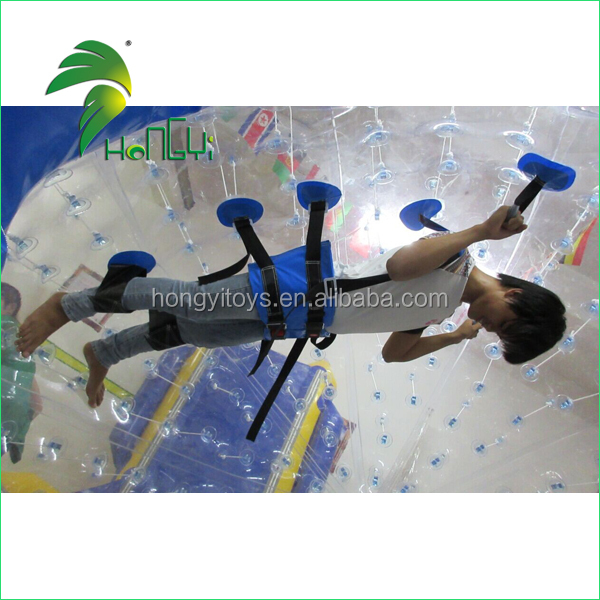 Newest Durable Execting Cheap Inflatable Body Zorbing Balls for Kid&Adult