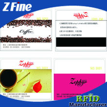 Wholesale Classic 1K Compatible Business Card/125khz Inkjet PVC Smart Card with Em4305 Chip