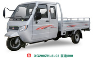 High quality/Cheap price OEM three wheel closed 800cc high displacement motor truk cargo van