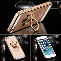 newest business manufacturing fancy cell phone cover case ring stand phone case cover for IPhone SE case