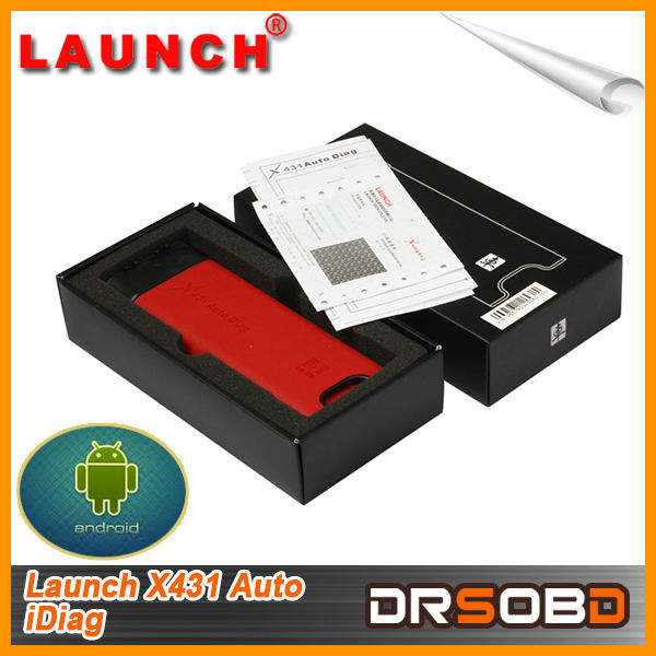 Standard OBDII Interface Reading and Clearing DTC Launch X431 Auto Diag Intelligent Diagnostic Tool for Sale