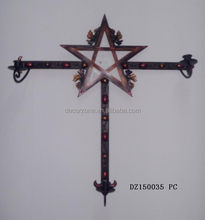 Beautiful Christmas Metal Star Wall Decoration