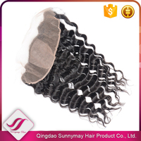 New Products Virgin Hair Malaysian Ear to Ear Lace Frontal Hair Pieces Loose Wave Silk Base Lace Frontal
