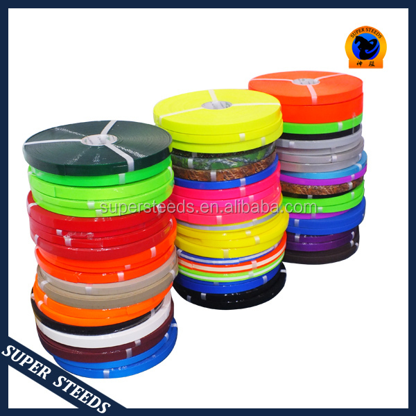 Plastic coated nylon webbing for dog leashes and collar
