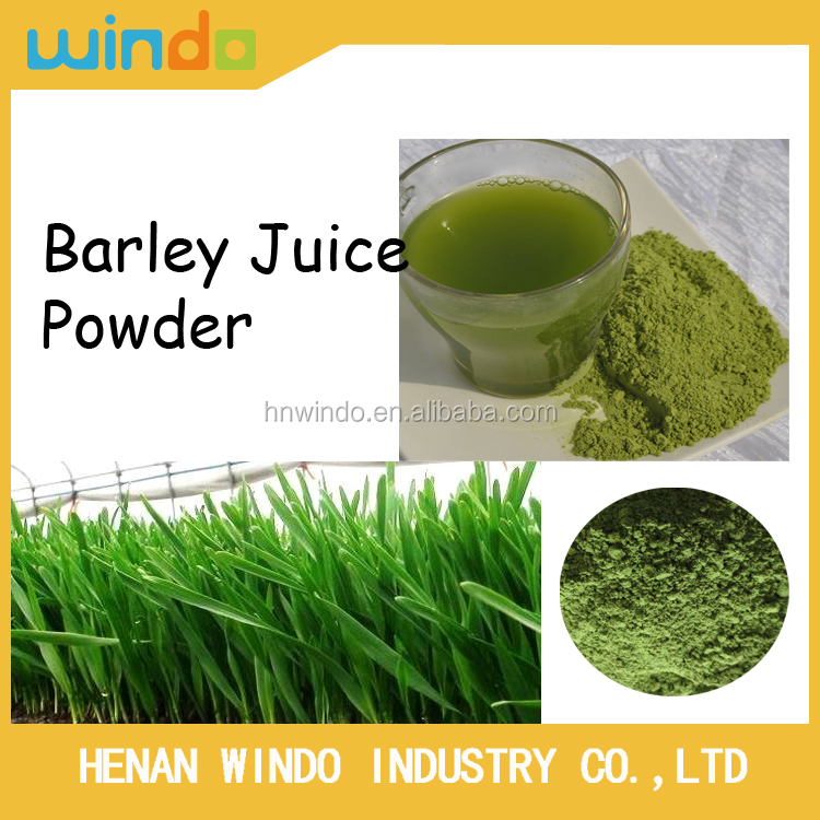 Organic Barley Grass juice powder natural energy drink