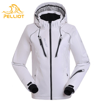 brand name winter waterproof white ski clothes for women