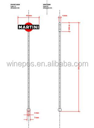 Plastic Stirrer, martini stirrer, stainless steel stirrer