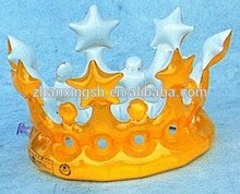 Customized Design Inflatable Crown Cap Wholesale Tiara Crown