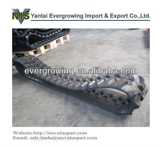 Rubber Track for excavator, bulldozer, dumper, crawler loader