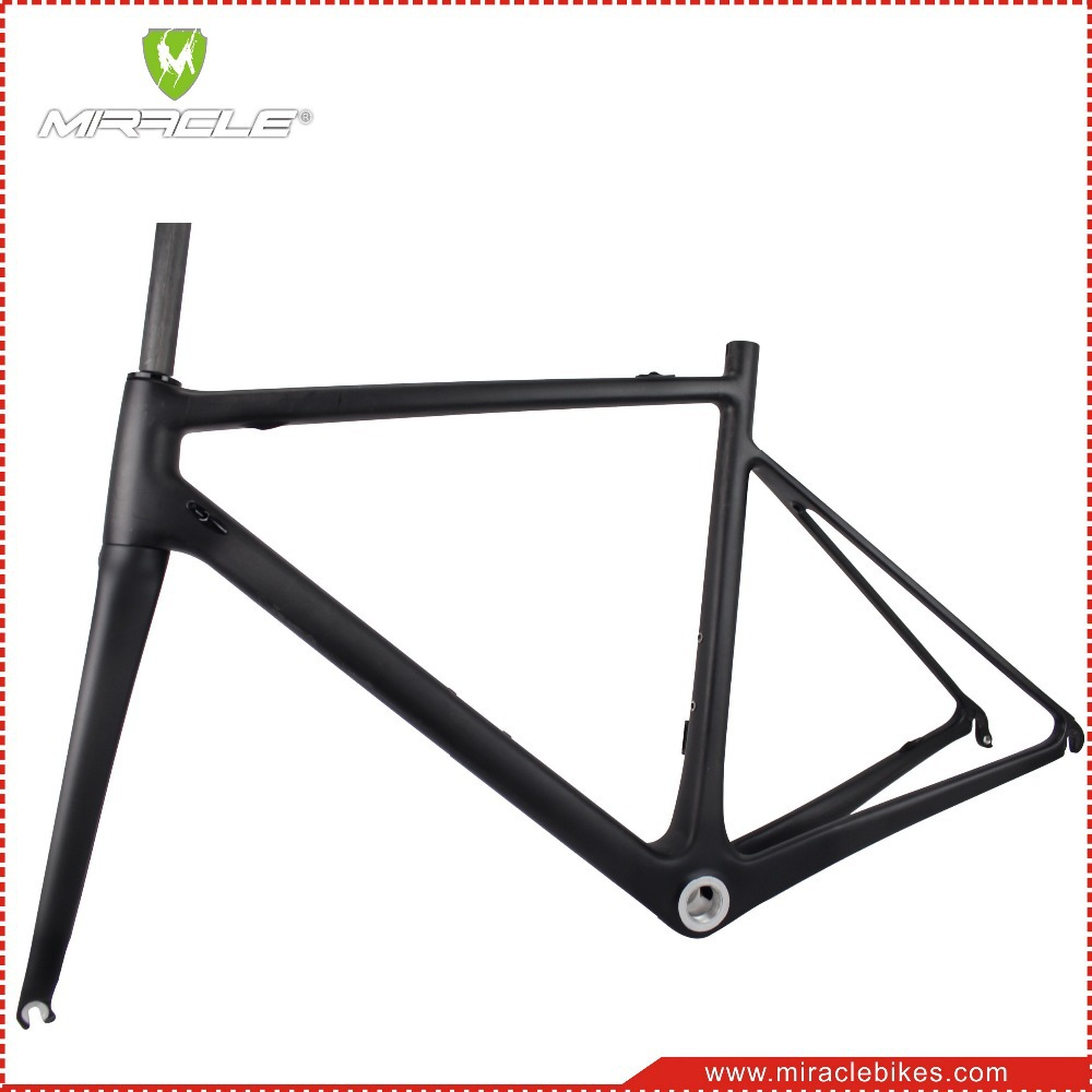 New Miracle Di2 Road Bike Complete Carbon Racing Bike Frame China bicycle 105 groupset carbon wheelset