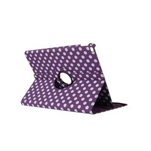 Factory Slim Colorful Dots Free Rotating Tablet Leather Cover Case for 9 Inch Android Tablet PC