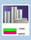 PET Saran film coated PVDC