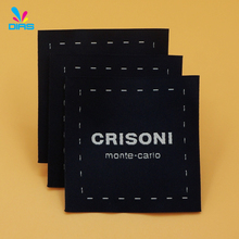 Hot sale cheap custom design size cloth woven garment label
