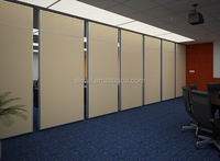 aluminium movable partition wall and folding walls wooden acoustic folding partition for offices