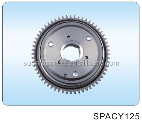 COMPLETE OVERDRIVE CLUTCH SPACY125