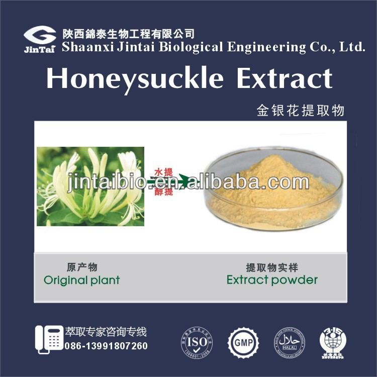 Natural flower extract powder flos lonicerae extract