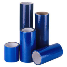 PE blue duct protection film--duct wrap