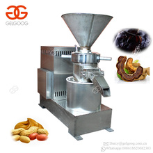 Vertical Almond Tamarind Paste Chickpea Hummus Peanut Butter Colloid Mill Making Machine