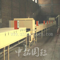 Color Zhongtuo stone coated metal steel roofing tile machine