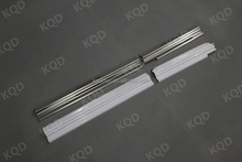 China manufacturers toyota fortuner parts of car door sill/stainless steel door sill scuff plate for toyota fortuner 2015