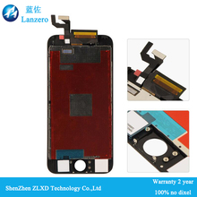 China mobile phone spare parts for iphone 6s screen replacment lcd digitizer