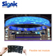 P4mm flexible led mat/ flexible led scrolling sign / flexible led strip