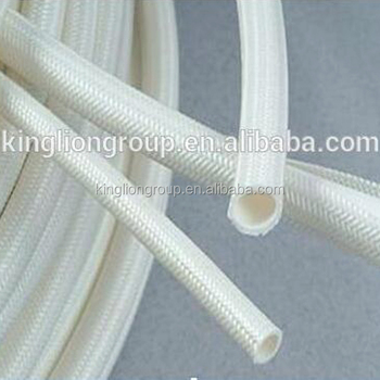 silicone fiberglass insulation tube