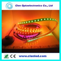 Addressable 3led group change color 5050 digital ws2812 led strip ws2812b ws2811 led 5050 RGB tape