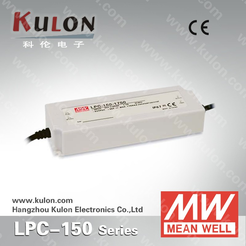 LED Driver 150W 300V 500mA LPC-150-500 Meanwell AC-DC SMPS LPC-150 Series MEAN WELL C.C Power Supply