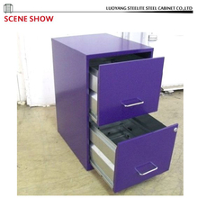 Competitive Price Purple under table drawer File Cabinet for Sale