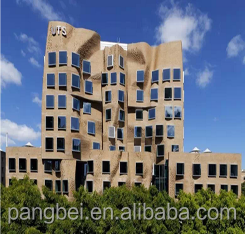 Shanghai PangTong professional design prefabricated high rise steel structure building