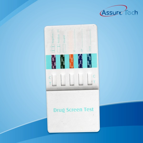CE &FDA marked Multi Panel 5 drugs rapid test panel