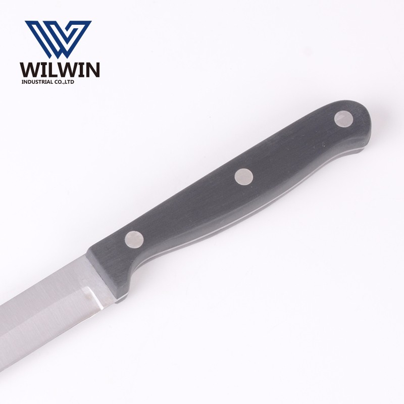 5 inch stainless steel utility knife with POM handle