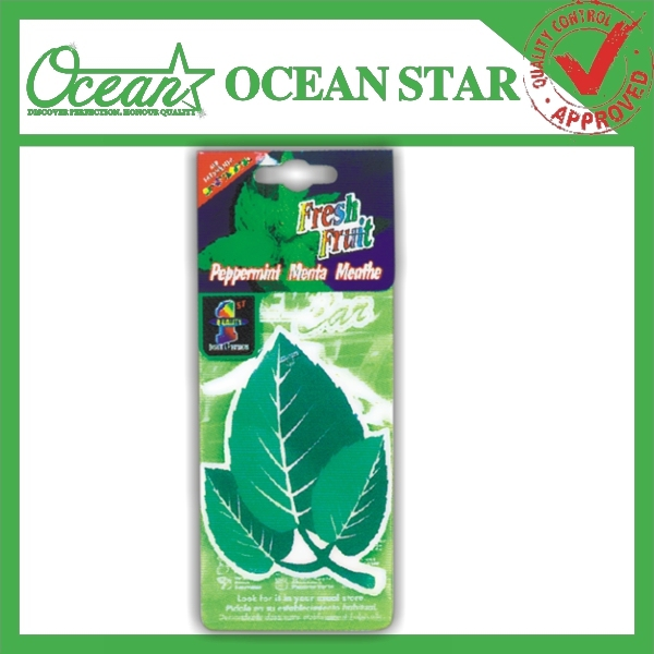 Car Fragrance Paper Air Freshener