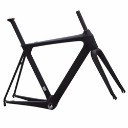 2016 carbon road bike frame Aerodynamic tube super light bb86 di2 frame
