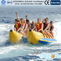 Exciting Ocean Water Game Inflatable Banana Boat